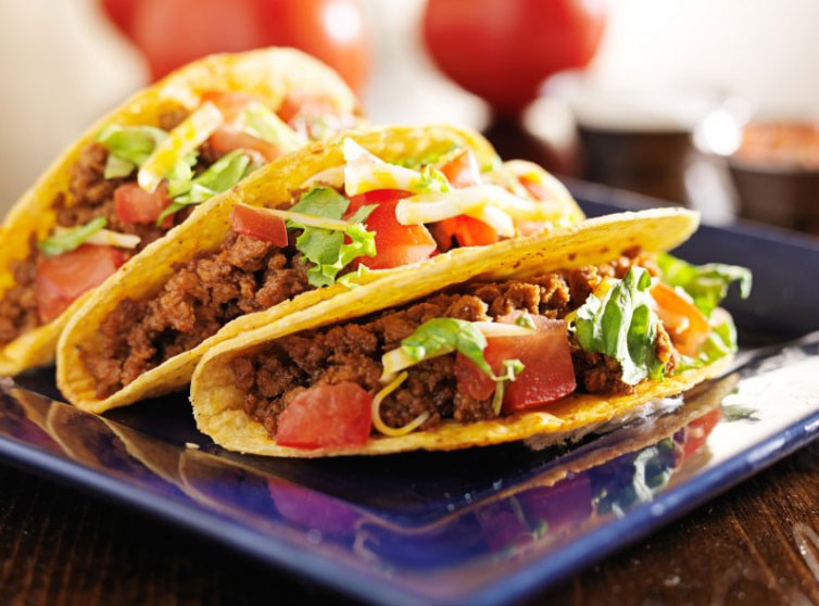 Tortillas para tacos mexicanos