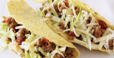 tacos mexicanos de res
