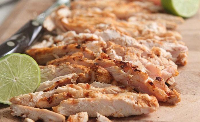 Como hacer pollo para tacos