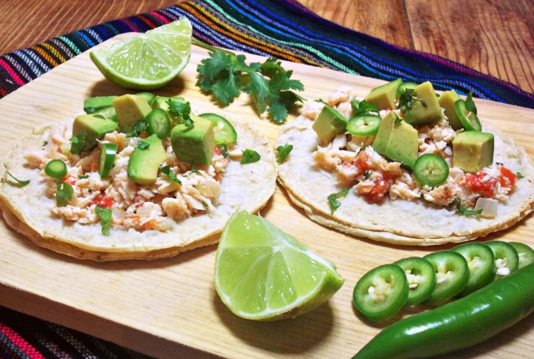 5 Recetas De Tacos De Pollo Deshebrado Deliciosas 2020