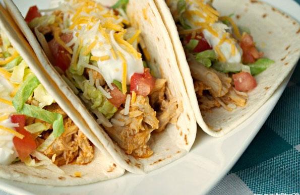 5 Recetas Tacos De Pollo Bajos En Calorias Deliciosa Y