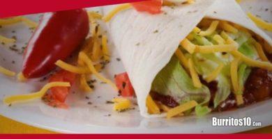 ¿Cómo hacer Burritos light?