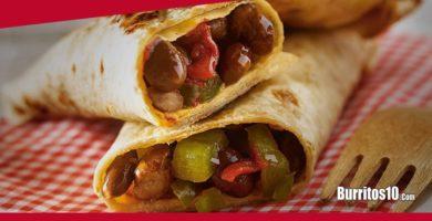 ¿Cómo hacer Burritos con tortilla de maíz?