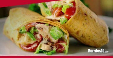 ¿Cómo hacer Burritos mexicanos?