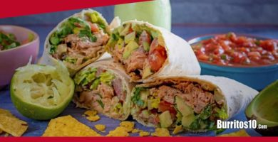 ¿Cómo hacer Burritos de Salmón?