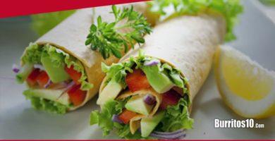 ¿Cómo hacer Burritos vegetarianos?