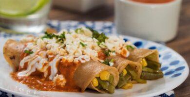 Enchiladas de nopal