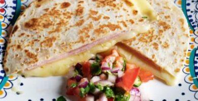 quesadillas de queso manchego